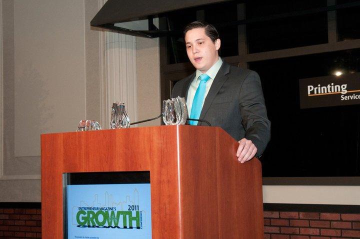 Emerging Entrepreneur of 2010 Speech