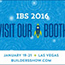 It's that time of year again- IBS 2016! Come Join Us at Booth# S1561