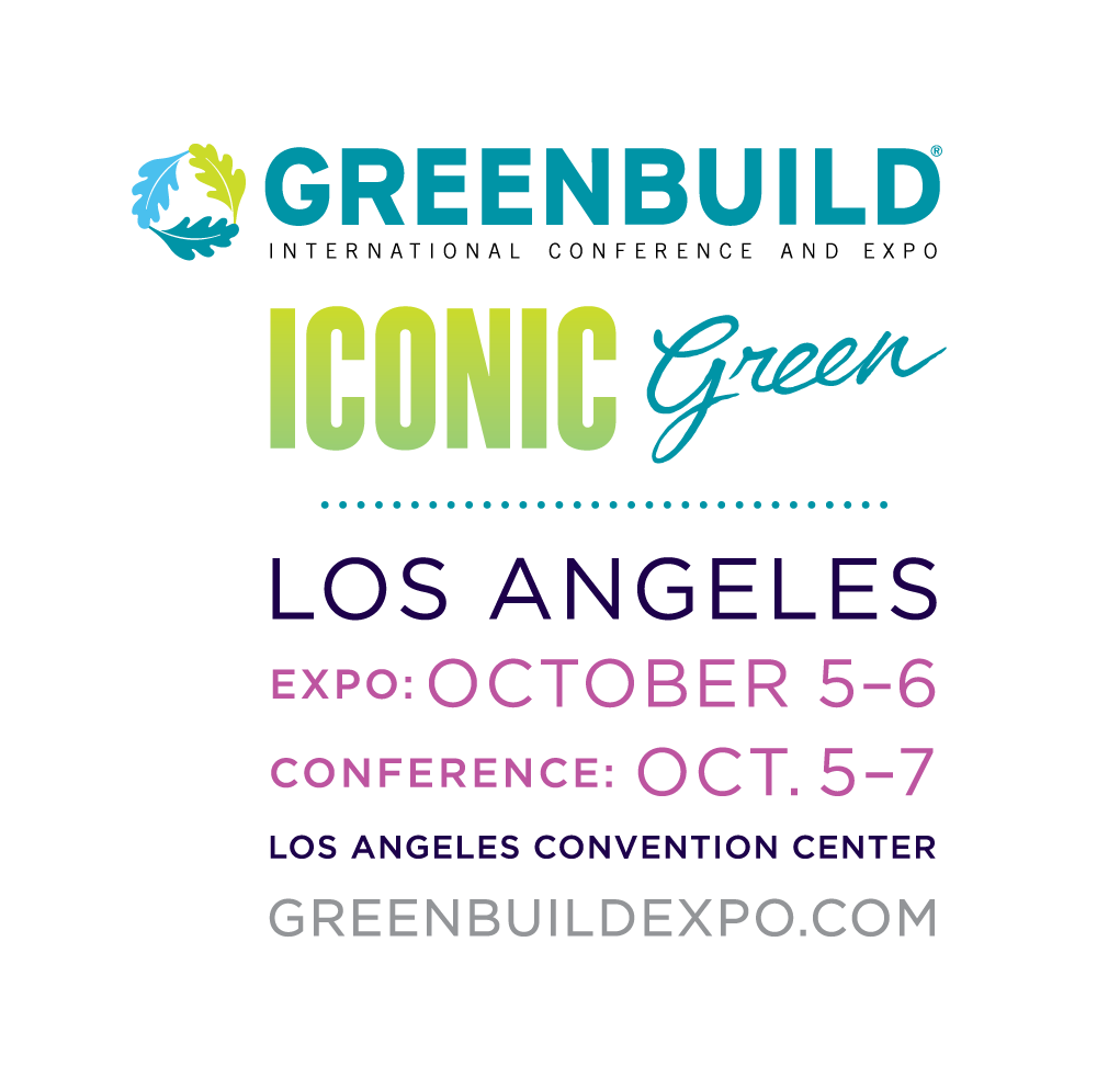 Get Ready For GREENBUILD- Enovative booth#1248