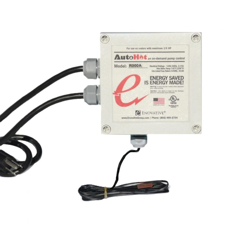Residential AutoHot On-Demand hot water heat Pump Control