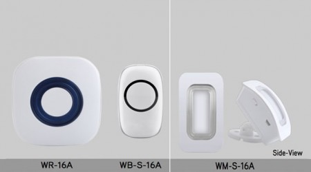 16 Series Wireless Buttons and Motion Sensors- Models: WR-16A, WB-S-16A, WM-S-16A